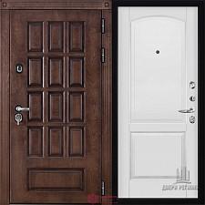 Металлическая дверь REGIDOORS Шпон Центурион Фоборг Эмаль белая