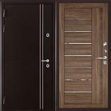 Металлическая дверь REGIDOORS Термодверь Норд коричневый 2110