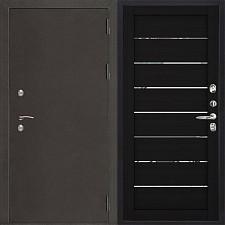 Металлическая дверь REGIDOORS Антик Термо 3 LIGHT 2125 Шоко