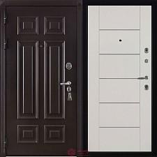 Дверь входная Двери Регионов Сенатор Марсель Меттэм Лайт Ясень Жемчуг