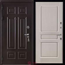 Дверь входная Двери Регионов Сенатор Марсель Меттэм Виктория Белая эмаль