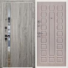Дверь входная Двери Регионов 3К TESLA Грей софт Стандарт