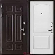 Дверь входная Двери Регионов Сенатор Марсель Меттэм Фоборг Белая эмаль