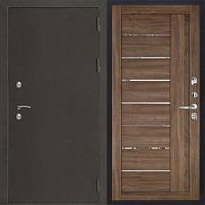 Металлическая дверь REGIDOORS Антик Термо 3 LIGHT 2110 Серый