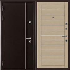 Металлическая дверь REGIDOORS Термодверь Норд коричневый 2127