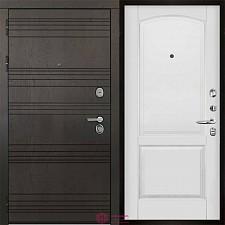 Входная дверь Двери Регионов 3К Министр Фоборг Эмаль белая