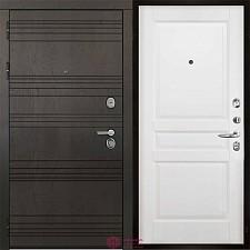 Входная дверь Двери Регионов 3К Министр Гармония Эмаль белая
