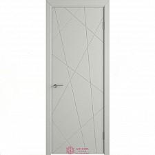Межкомнатная дверь Владимирские двери Colorit К5  ДГ Светло-серая эмаль