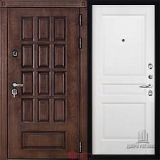 Металлическая дверь REGIDOORS Шпон Центурион Гармония Эмаль белая