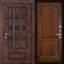 Металлическая дверь REGIDOORS Шпон Центурион Фоборг Античный орех
