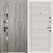 Дверь входная Двери Регионов 3К TESLA Грей софт 2127
