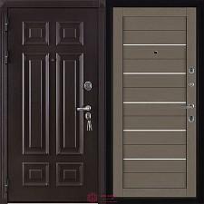 Дверь входная Двери Регионов Сенатор Марсель Меттэм 2127 Софт Тортора