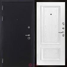 Входная дверь Двери Регионов Темное серебро Колизей антик Корсика Перла