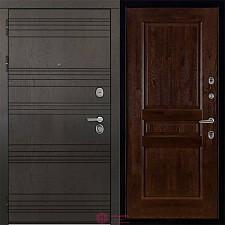 Дверь входная Двери Регионов 3К Министр Виктория Античный орех