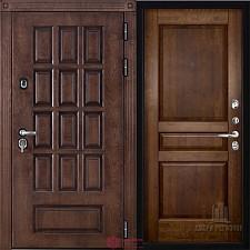 Металлическая дверь REGIDOORS Шпон Центурион Гармония Античный орех
