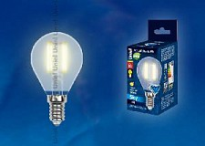 LED-G45-6W/WW/E14/FR Лампочка Uniel Китай