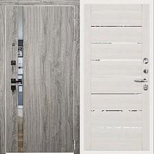 Дверь входная Двери Регионов 3К TESLA Грей софт 2125