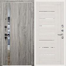 Дверь входная Двери Регионов 3К TESLA Грей софт 2110