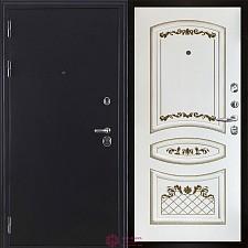 Входная дверь Двери Регионов Тёмное серебро Колизей антик Алина-2