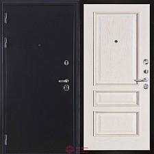 Входная дверь Двери Регионов Тёмное серебро Колизей антик Вена Белый с патиной