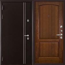 Металлическая дверь REGIDOORS Термодверь Норд коричневый Фоборг