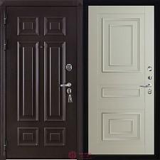 Дверь входная Двери Регионов Сенатор Марсель Меттэм Florence 6001 Серена светло-серый