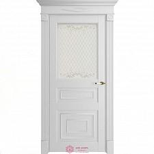 Межкомнатная дверь экошпон Uberture Florence 62001 ДО Серена белая