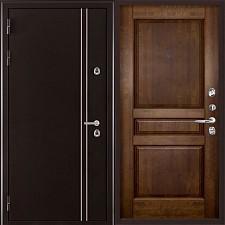 Металлическая дверь REGIDOORS Термодверь Норд коричневый Гармония