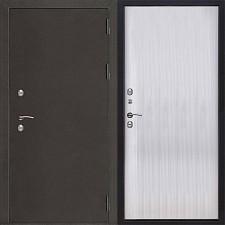 Металлическая дверь REGIDOORS Антик Термо 3 Меламин Венге светлый