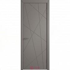 Межкомнатная дверь Владимирские двери Colorit К5  ДГ Темно-серая эмаль