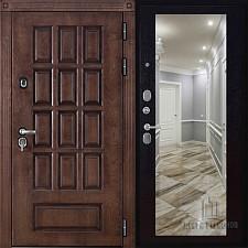 Металлическая дверь REGIDOORS Шпон Центурион Зеркало