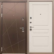 Дверь входная Сударь Soft-Touch МД-50 Шампань М10