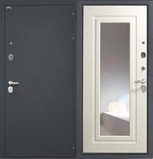 Входная дверь Интекрон Шёлк Эллада с зеркалом