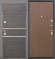Входная металлическая дверь Интекрон Securemme Неаполь Дуб кантри темный
