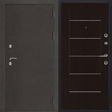 Металлическая дверь REGIDOORS Антик Термо 3 Лайт MD 003 Венге