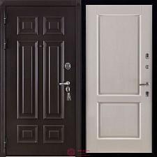 Дверь входная Двери Регионов Сенатор Марсель Меттэм Селена Белая эмаль