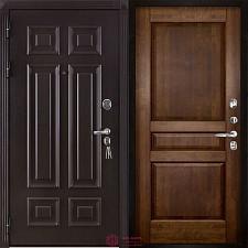 Дверь входная Двери Регионов Сенатор Марсель Меттэм Гармония Античный орех